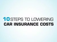 10 Steps to Lowering Car Insurance (video)