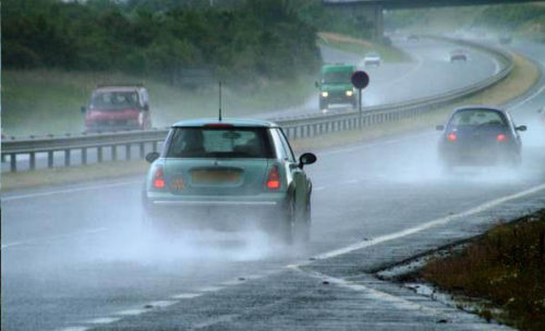 Driving in the rain presents its own set of challenges when you're behind the wheel.