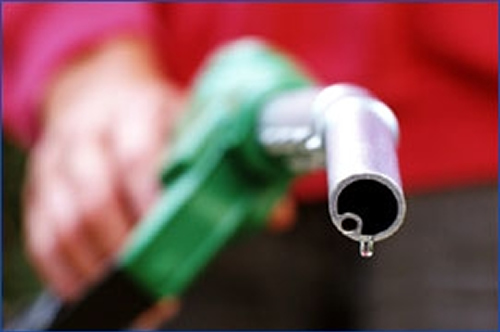 Gas prices are falling, but they're still 1/3 higher than just a year ago.