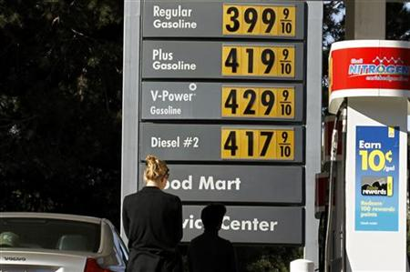 Gas prices came close to $4.00 a gallon this summer.